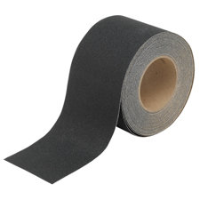 100mm Pretslīdēšas lenta Roll-Mounted Anti-Skid Tape - Black