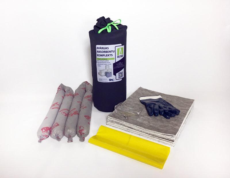 DELTARS-EKO Avārijas noplūdes absorbentu komplekts