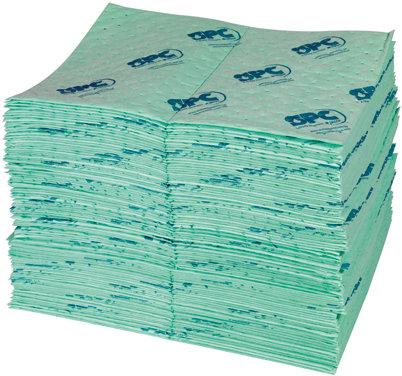 UN 100-E Ķīmisku šķidrumu absorbents loksnēs