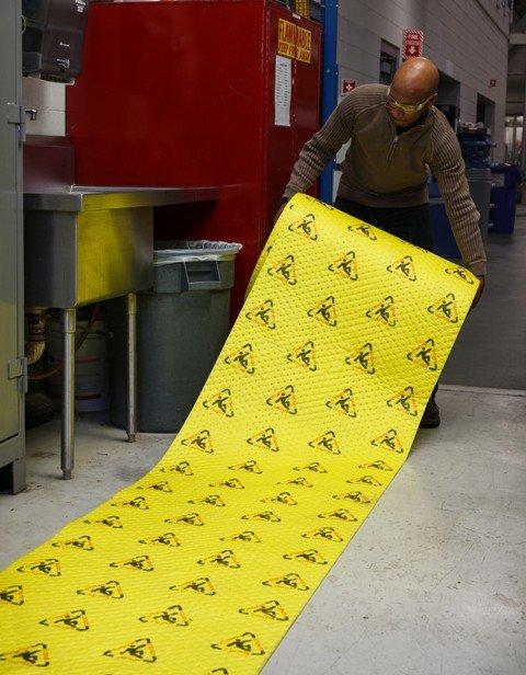CH30DP Īpaši pamanāms absorbents ar drošības zīmēm