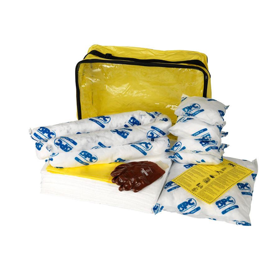 Lielā izmēra ADR absorbentu komplekts - NAFTAS PIESĀRŅOJUMA SAVĀKŠANAI - 63 LITRI