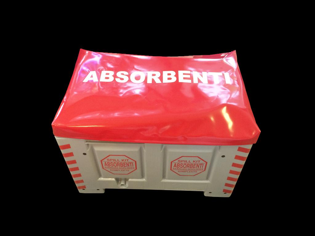 SKO-XLT Lielizmēra naftas produktu absorbentu komplekts