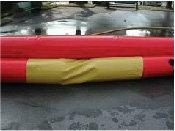PLŪDU AIZSARGBARJERAS - One-tube / Bi-tube barriers