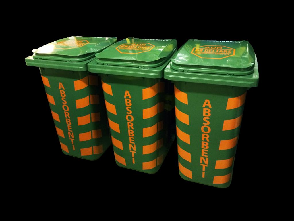 SKO - 120 Naftas produktu absorbentu komplekts