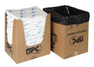 OP15-DND-E Naftas produktu absorbents ar papildus izturību un izdales kasti.